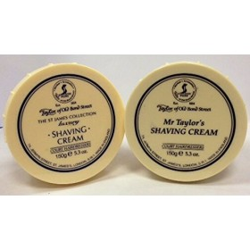 Taylor of Old Bond Street Shave Cream -- Mr Taylor and St James 5.3 0z by TOBS