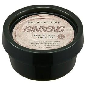 NATURE REPUBLIC Real Nature Clay Mask (Ginseng & Coconut) / ネイチャーリパブリック リアルネイチャークレイマスク (Ginseng & Coconut) [並行輸入品]