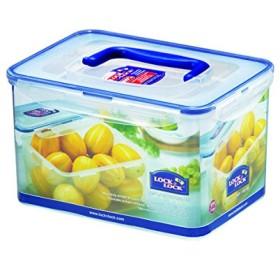 ハンドルが付いている気密の長方形の食糧貯蔵容器をロックしなさい及びロックしなさい152.16オンス/ 19.02カップ