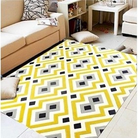屋内外のドアマット ヨーロッパの幾何学的な居間のコーヒーテーブルの厚いベッドサイドベッドのマットレスの長方形の家のマットレスの習慣 (Color : #3, サイズ : 120170cm)