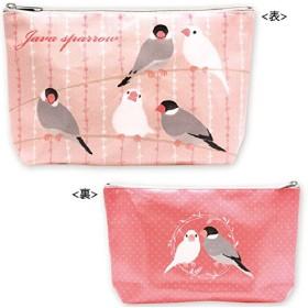 鳥 Pi ポーチ(文鳥)☆RB-PO001