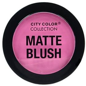 (3 Pack) CITY COLOR Matte Blush - Pink (並行輸入品)