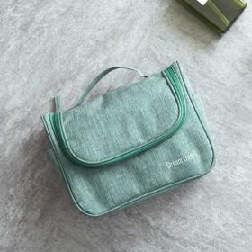 化粧ポーチ 小さい, 化粧バッグ旅行 大容量 トランペット ウォッシュ バッグ だがしかし 屋外 収納バッグ 女性化粧品バッグ-緑 24x10x19cm(9x4x7inch)