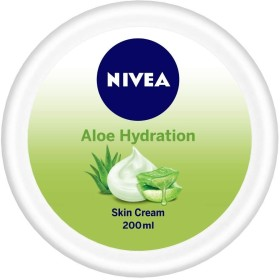 NIVEA Aloe Hydration Skin Cream, 200ml