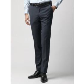 【THE SUIT COMPANY:パンツ】【blazer's bank.com】ウールテーパードパンツ≪Fabric by REDA≫