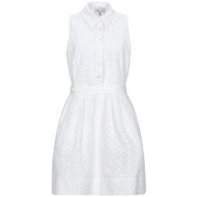 《期間限定セール開催中!》MILLY レディース ミニワンピース&ドレス ホワイト 8 コットン 100%