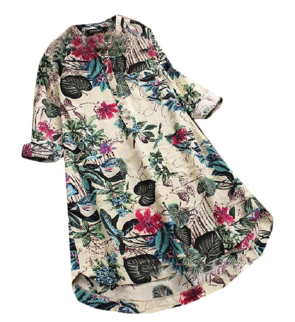 Kankanluck Women Print Plus Velvet Long Sleeve Relaxed Fit Vogue Sweatshirt