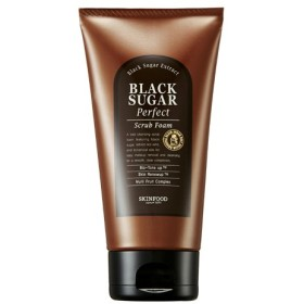 Skin Food /スキンフード ブラックシュガーパーフェクト スクラブフォーム(洗顔料)180g [海外直送品]