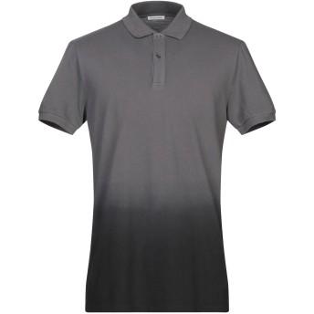 《期間限定セール開催中!》TOMAS MAIER メンズ ポロシャツ 鉛色 S コットン 100%