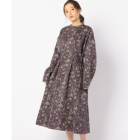 (SHIPS OUTLET/シップス アウトレット)【SHIPS for women】08sircus: FLR NEEDLE PUNCH DRES/レディース パープル