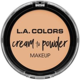 L.A. COLORS Cream To Powder Foundation - Buff (並行輸入品)