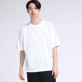 (ティーケー タケオキクチ) tk.TAKEO KIKUCHI フレーム昇華プリントドルマン 17026306 01(S) ホワイト(401)