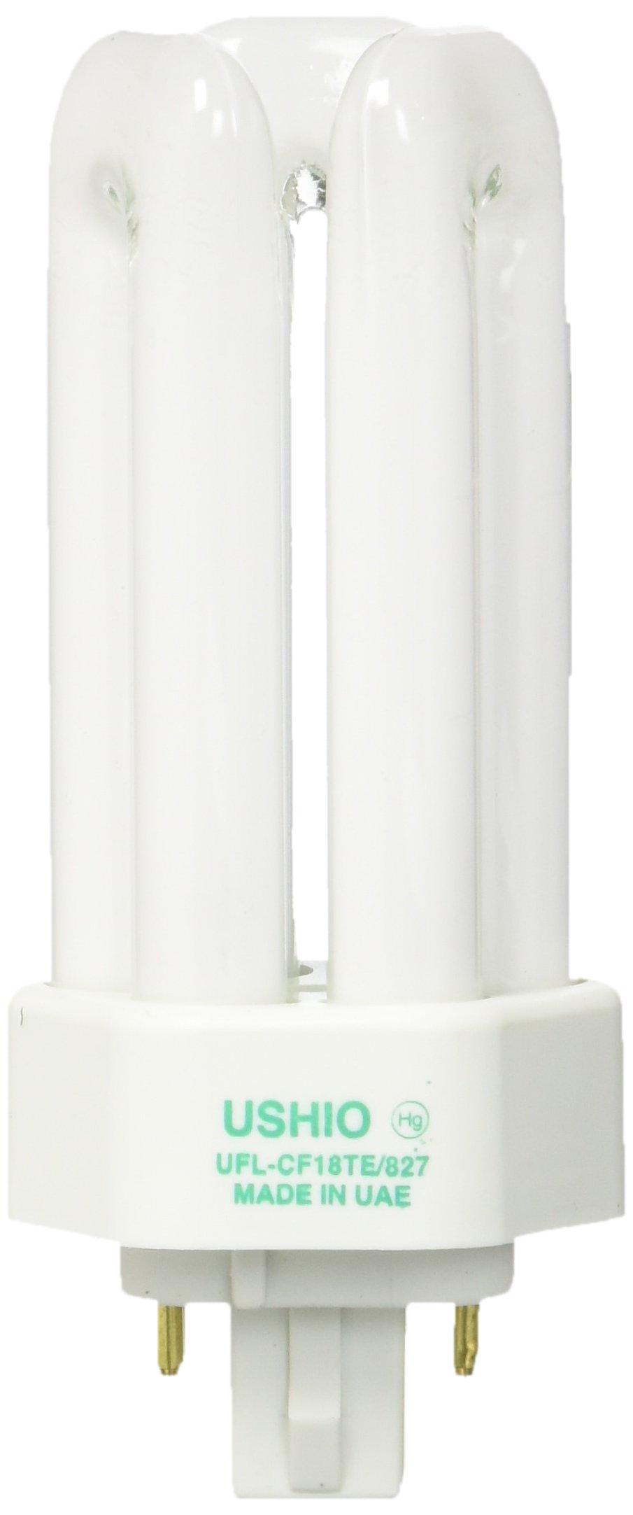 Ushio BC1339 3000140 CF13D//841 Double Tube 2 Pin Base Compact Fluorescent Bulb