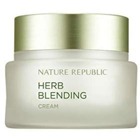 ネイチャーリパブリック(Nature Republic)ハブブレンドクリーム 50ml / Herb Blending Cream 50ml :: 韓国コスメ [並行輸入品]