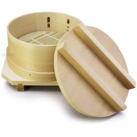 日本製 ひのき ワッパセイロ 台輪付セット 9cm   [卓上・ミニ・せいろ・わっぱ・和セイロ]