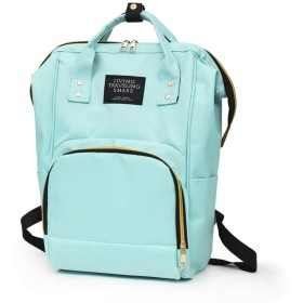 マザーズバッグ お花見ピクニック用ママバッグ 旅行用お出かけ用大容量バッグ ベビー用品収納 よく使う機能全部ある 使いやすい マザーズリュック 綺麗なカラー (グリーン)