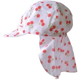 [カジュアルボックス] ベビー&キッズ帽子 UVカット トドラー バオバブ キャップ 日本製 50-54cm さくらんぼ