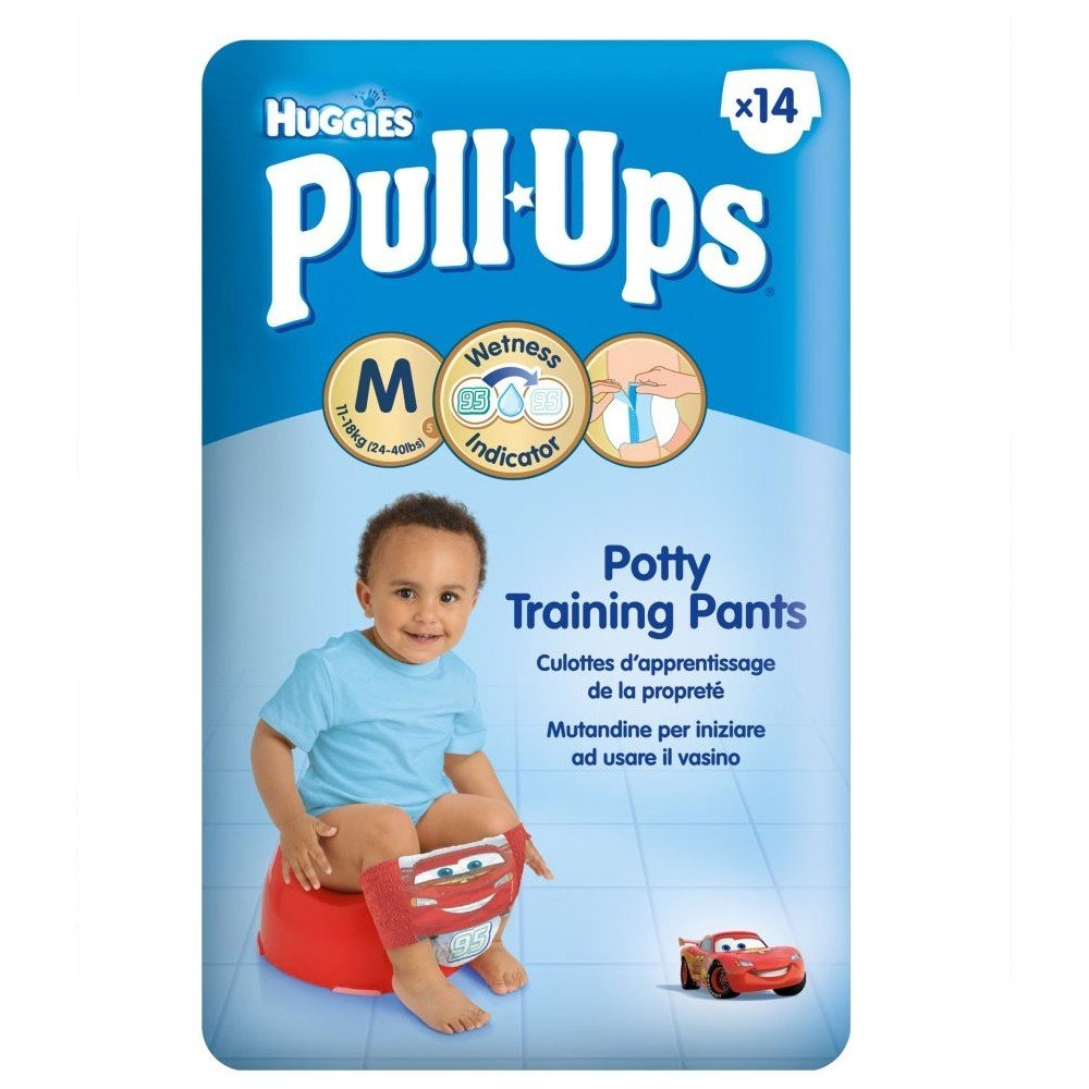 Pack of 2 10 Huggies Pull Ups Night Time Potty Training Pants for Boys Size 6 Large 16-23kg