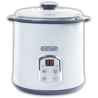 D-STYLIST ヨーグルト&チーズメーカー KK-00460