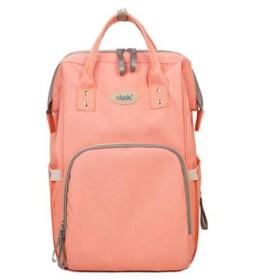 【MarieAnge】 マザーズバッグ リュック 保温ポケット キーストラップ付き 防水ポケット 多機能 大容量 全4色 ピンク 404