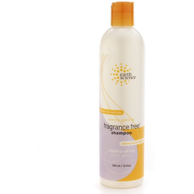 Earth Science Fragrance Free Shampoo, 12-Ounce Bottles (Pack of 3)