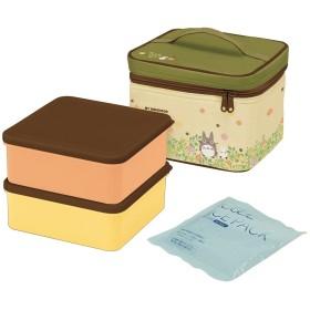 スケーター 行楽弁当箱 保冷バッグ付 保冷剤付 2240ml となりのトトロ スタジオジブリ 日本製 KCPC2