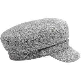キャップ ワークキャップ メンズ レディース カジュアル 通気性 蒸れない 春夏 サイズベレー帽 (グレー)