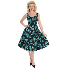 H&R London - ドレス - トライアングル - フローラル - ノースリーブ - Woman Black XS