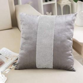Lts 枕カバーコットンソファベッドサイドチェアウエストピロークッション (Color : Style 1)