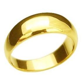 大きいサイズ 鍛造(たんぞう) K18月甲(つきこう)リング9g オーダーリング 結婚指輪 マリッジ 結婚 記念日 プレゼント オリジナル(22号)