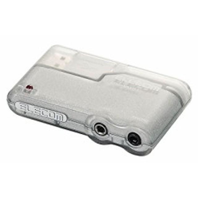 エレコム USBサウンドアダプタ USB-SAV51(中古品)