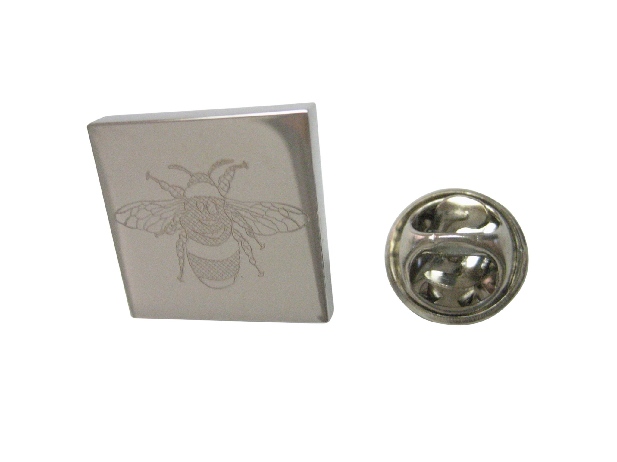 Silver Toned Etched Hermit Crab Cufflinks