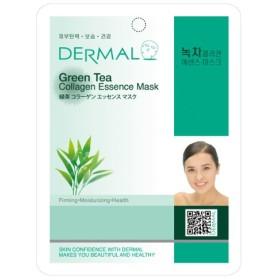 シートマスク 緑茶 10枚セット ダーマル(Dermal) フェイス パック