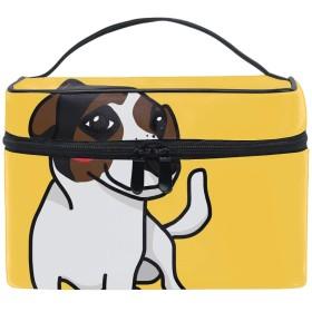 トラベルポーチ メイクポーチ 化粧ポーチ 充電器ポーチ 軽いかわいい犬