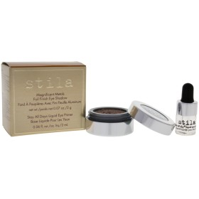 スティラ Magnificent Metals Foil Finish Eye Shadow With Mini Stay All Day Liquid Eye Primer - Comex Copper 2pcs並行輸入品