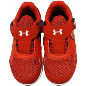 UNDER ARMOUR アンダーアーマー キッズ 子供 靴 スニーカー 運動靴 軽量 マジックテープ - レッド16.5cm