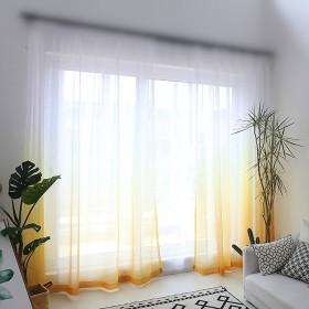 WPKIRAレースカーテン透けないUVカット薄手カーテンおしゃれ自然に換気半遮光窓部屋寝室ドア洗濯可能1組2枚入り幅100センチメートル×丈178センチメートル