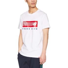 [ニューバランス] Tシャツ エッセンシャルトラックバーT WT(ホワイト) 日本 S (日本サイズS相当)