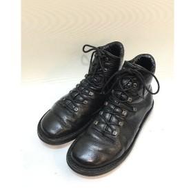 経堂) トリッペン trippen 編み上げ ブーツ サイズ40 ブラック メンズ