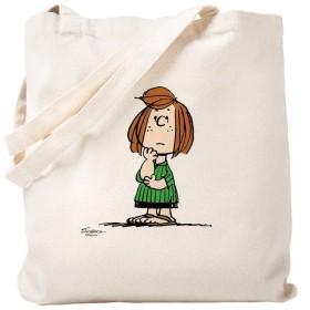 CafePress–Peppermint Patty–ナチュラルキャンバストートバッグ、布ショッピングバッグ S ベージュ 0559622651DECC2