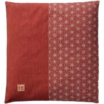 花々(hanahana) カバー ピンク 55×59cm 日本製 銘仙判 結 (ゆい) 53-581