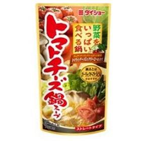 ダイショー 野菜をいっぱい食べる鍋 トマトチーズ鍋スープ 750g×10袋入×(2ケース)