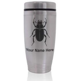 Commuter Travel Mug–Beetle–カスタマイズ彫刻含ま