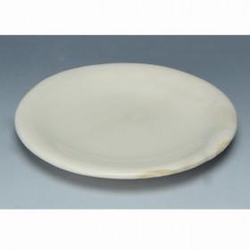 京焼・清水焼 陶器 5寸丸皿 粉引 紙箱入 Kiyomizu-kyo yaki ware. Japanese small plate kohiki with paper box. Ceramic.