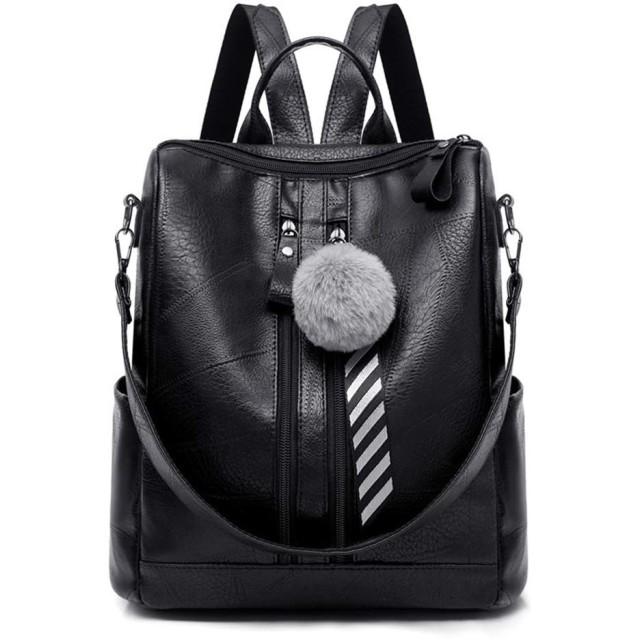 Marschao ファッション女性レディーススクールレザーガールズバックパック旅行ハンドバッグショルダーバッグ盗難防止リュックサック