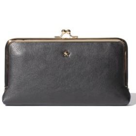 (Laplace box/ラプラスボックス)スターがま口長財布/レディース ブラック
