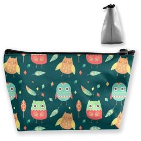 自由奔放に生きるスタイルの鳥のパターン 収納ポーチ 化粧ポーチ トラベルポーチ 小物入れ 小財布 防水 大容量 旅行 おしゃれ