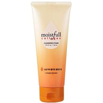 (ETUDE HOUSE エチュードハウス) MOISTFULL COLLAGEN CLEANSING FOAM モイストフル 水分いっぱい コラーゲン 洗顔フォーム 洗顔料