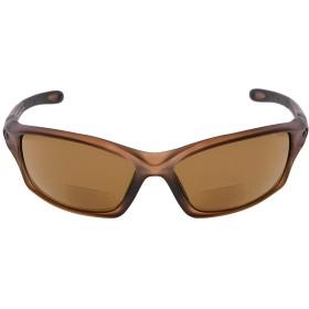 アイキーパー(Eyekepper)TR90 遠近両用 スポーツ用 サングラス 野球 ランニング お釣り ドライビング ゴルフ ハイキング(マットブラウン,+3.50)