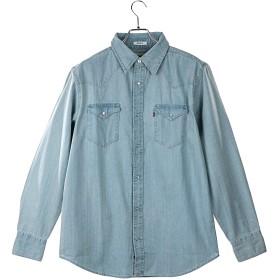 Levi's(リーバイス) デニムシャツ ウェスタンシャツ ユニセックス 3lmlw Barry - New Age Bleach (light) Mサイズ Levis Jean [並行輸入品]